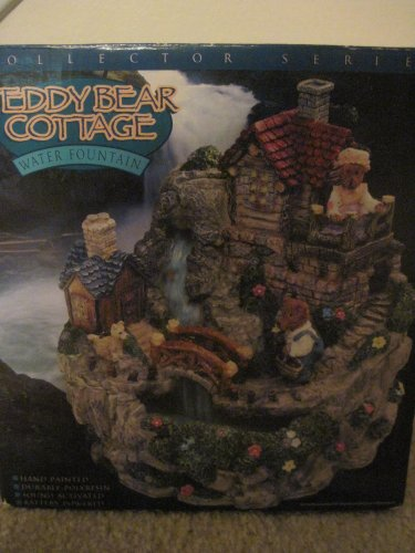 Teddy Bear Cottage Water Fountain (Bear Fountain compare prices)