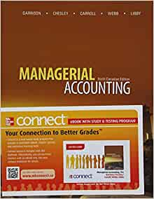 solution to managerial accounting ronald w hilton seventh edition Hilton, ronald w managerial accounting: creating value in a dynamic business environment, 9th edition, mcgraw-hill/irwin, 2011, isbn: 9780078110917 [this text is available as an etextbook at purchase or students may find used, new, or rental copies.