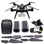 3D Robotics 3DR Solo Accommodation / EPP Kit with Solo Ready-to-Fly Aerial Photography Quadcopter, 3D Robotics Solo Gimbal for GoPro, Propeller Set, 3D Backpack, 3D 5200mAh Smart Battery
