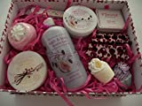 CUTE CUPCAKE SWEET SHOP BATH MELT/BOMB/BUBBLE BATH BATH & BODY GIFT SET - GIFT BOXED