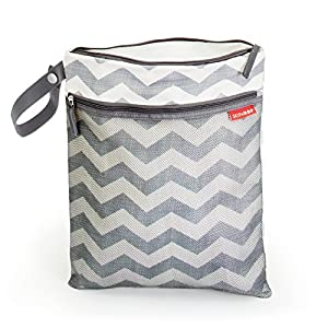 skip hop grab and go wet dry diaper bag chevron. Black Bedroom Furniture Sets. Home Design Ideas