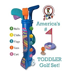 Childrens Toddler Golf Set *SPRING SPECIAL* Total Cost $19.99 Delivered Anywhere Continental US