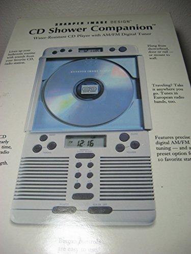 Sharper Image Single CD Shower Companion (SI538COB) (Sharper Image Shower Radio compare prices)