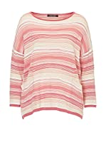 Betty Barclay Jersey (Rosa / Beige)