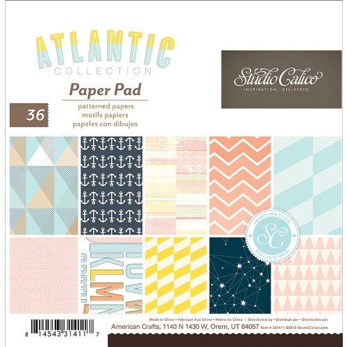 "Atlantic Paper Pad 6""X6"" 36/Sheets-18 Single-Sided Designs/2 Each"