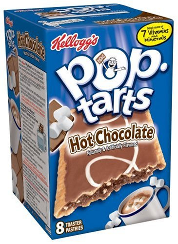Buy Kellogg's Pop-Tarts Hot Chocolate, 14.1-Ounce, 8-Count Boxes (Pack of 12) (Pop-Tarts, Health & Personal Care, Products, Food & Snacks, Breakfast Foods, Toaster Pastries)