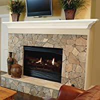 Pearl Mantels Crestwood 24-Inch Wall She...