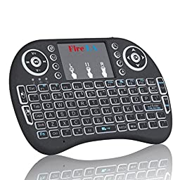 Fire LA Mini Wireless 2.4G Backlit Touchpad Keyboard with Mouse for PC / Mac/ Android TV BOX/ TV Box