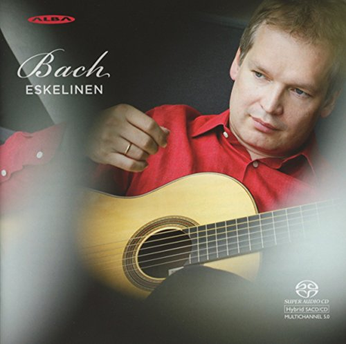 SACD : BACH / ESKELINEN - Suite In E Major / Suite In A Minor