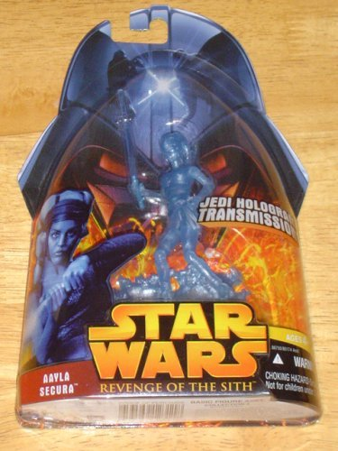 Star Wars Revenge of the Sith Aayla Secura Hologram Action Figure - 1