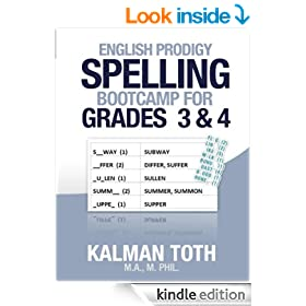 English Prodigy Spelling Bootcamp For Grades 3 & 4