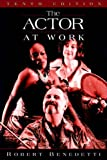 img - for The Actor at Work book / textbook / text book