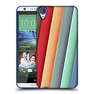 Snoogg Light Color Strips Designer Protective Phone Back Case Cover For HTC Desire 820