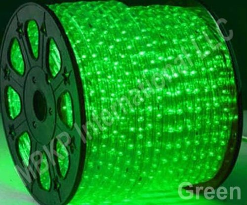 Green Led Rope Lights Auto Home Christmas Lighting 49 Feet