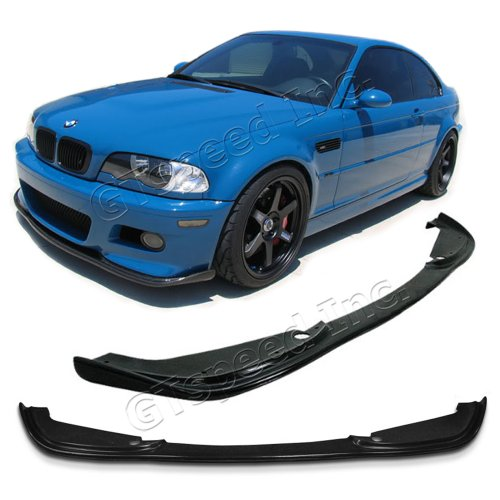 New - 2001-2006 Bmw E46 M3 Only H-Style Pu Front Bumper Lip Chin Spoiler