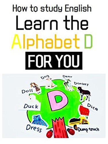 Learn D's words l How to study Alphabet about D with stickers !! l D TREE For Kids