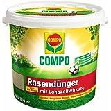 Compo 1314888 Rasendünger mit Langzeitwirkung 8 kg für 300 qm
