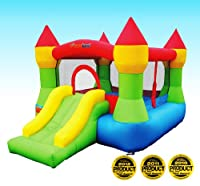 Bounceland Castle W/Hoop Inflatable Bounce House Bouncer by Bounceland