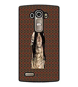 PrintDhaba Crying Girl D-4557 Back Case Cover for LG G4 (Multi-Coloured)
