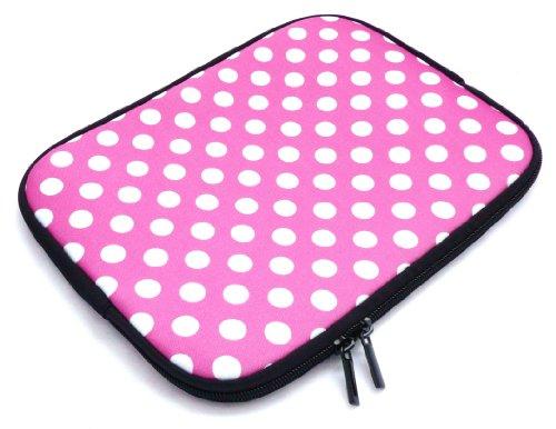 emartbuyr-polka-dots-hot-rosa-bianco-acqua-resistant-neoprene-molle-zip-case-cover-custodia-sleeve-m