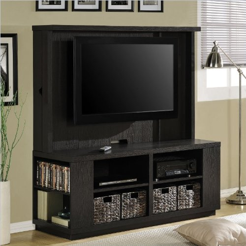 Altra Furniture Dylan Home Entertainment Center In Espresso front-673955