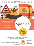 Spanish Made Simple: Revised and Updated (0767915410) by Judith Nemethy