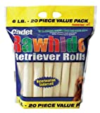 Retriever Roll Dog Treat Quantity: 6-lb, Flavor: Natural