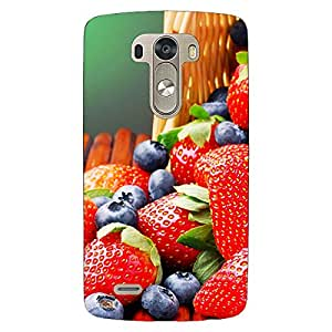 Jugaaduu Strawberry Love Back Cover Case For Lg G3 D855