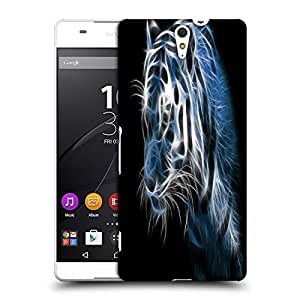 Snoogg Shine tiger digital Designer Protective Back Case Cover For Sony Xperia C5 Ultra
