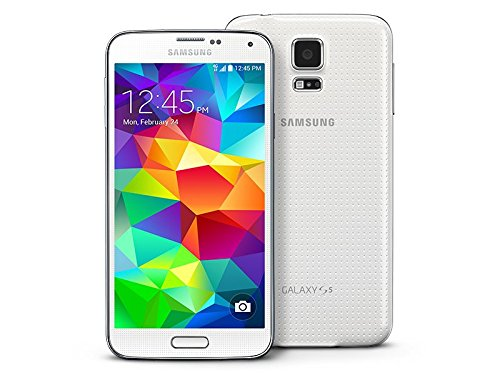 Samsung Galaxy S5 G900T T-Mobile Cellphone, 16GB, Shimmery White (Tmobile Samsung Galaxy S6 compare prices)