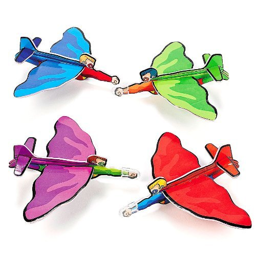 Fun Express Superhero Gliders (2 Dozen)
