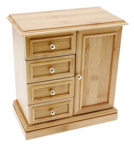 Co Pamela Wardrobe Wooden Jewellery Box Solid Wood