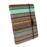 Tuff-Luv Embrace Pro Material Case Cover with Sleep Function for Apple iPad Mini/Retina - Green Navajo