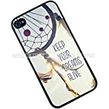 K9D New Keep Your Dreams Alive Quote plastic Hard Case cover For iPhone 4 4G 4S