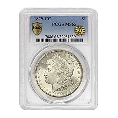 1879 CC Morgan $1 MS65 PCGS