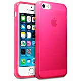 iPhone 5S TPU Gel Skin Case / Cover - Hot Pink