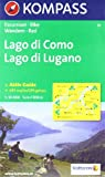 Kompass Karten, Lago di Como, Lago di Lugano (KOMPASS-Wanderkarten)