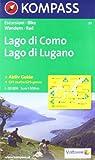 Kompass Karten, Lago di Como, Lago di Lugano (Aqua3 Kompass)
