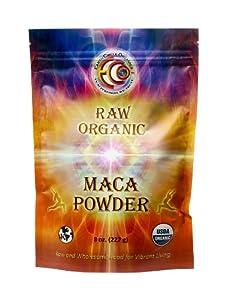 Earth Circle Organics - Raw, Organic, Kosher - Maca Powder, 8 oz Bag (FFP)