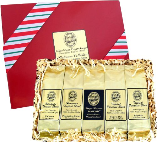 Voted Best Coffee Gift, Kona Hawaiian Gourmet