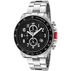 red line Men's RL-50018-11 Range Collection Chronograph Stainless Steel Watch
