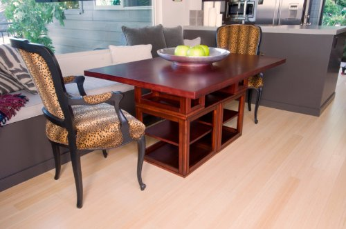 Ucube Dining Table, Merlot