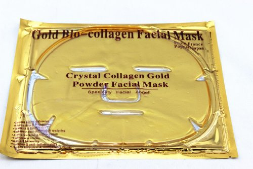 10 Pieces Gold Crystal Collagen Facial Mask Face Masks