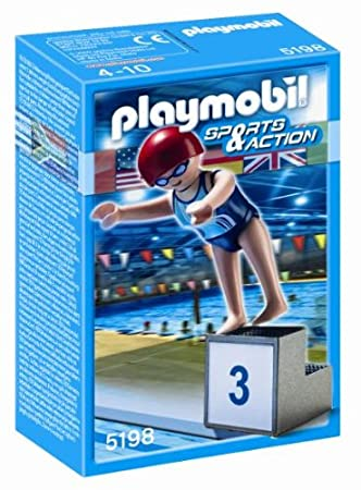 Playmobil - 5198 - Jeu de construction - Nageuse