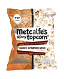 Metcalfe's Skinny Topcorn Sweet Cinnamon Spice 25 g (Pack of 12)