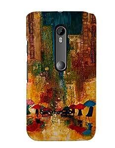 Citydreamz Back Cover For Motorola Moto G (3rd Gen.)