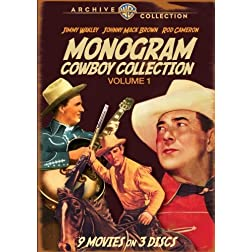 Monogram Cowboy Collection Vol. 1 (3 Discs)