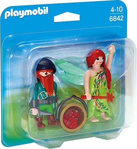 PLAYMOBIL 6842  Duo Pack Elfe und Zwerg, Spielwerkzeug Picture