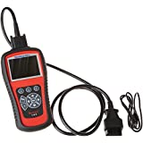 Autel MD802 OBD2/EOBD Scan Tool for Engine, Transmission, ABS, Airbag,EPB,OIL Service Reset (MD802(4 System))