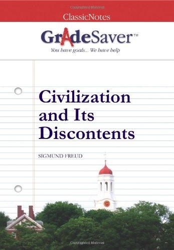 "essay on civilization and its discontents Free essay: ""civilization and its discontents"" is a book written by sigmund freud in 1929 (originally titled ""das unbehagen in der kultur"" or the uneasiness."